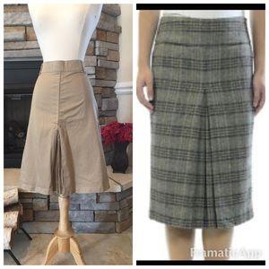 🌷ZARA Front pleated skirt