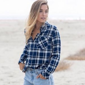 Jachs Tops - JACHS Girlfriend Ladies' Flannel Shirt