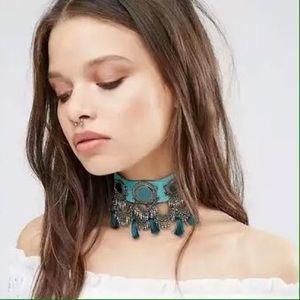 janejane Jewelry - Boho tussle choker