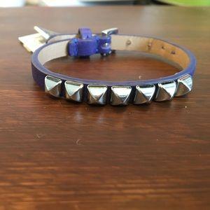 Juicy couture nwt purple studded bracelet