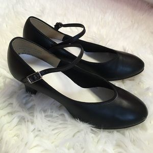 Dance Class Shoes - Genuine Leather Dance Shoes (Handmade)