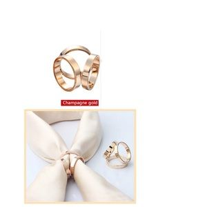 Jewelry - Champagne Gold Buckle/ Ring for Scarf
