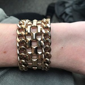 H&M Jewelry - Gold chain bracelet