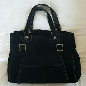 Handbags - Vintage Suede Bag