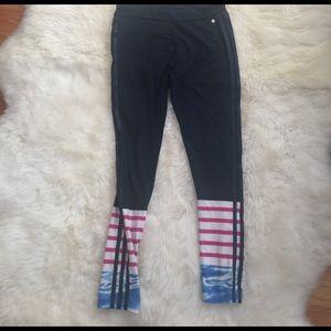 Adidas Leggings. Navy blue
