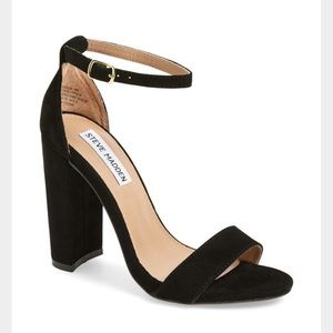 Steve Madden block heel sandals - sz 8.5