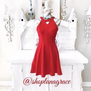 Emerald Sundae Dresses & Skirts - 🌹HP🌹 Side Lace Halter Dress