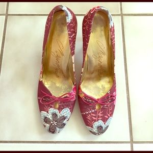 Magnolia Shoes - Floral Heels