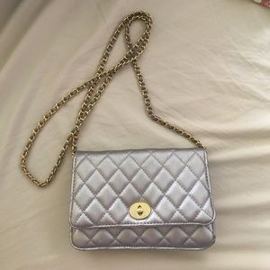 Handbags - Silver mini bag
