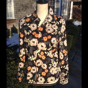 Geoffrey Beene Tops - Geoffrey Beene Sport woman's print shirt