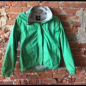 North Face Jackets & Blazers - Green North Face windbreaker jacket