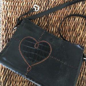 Brighton Handbags - Beautiful Brighton black leather handbag
