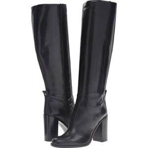 Kate Spade Baina Leather Boots Size 8
