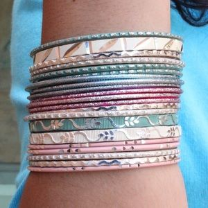 Forever 21 Jewelry - Forever 21 Pastel Pink and Mint Green Bangles