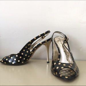 Giorgio Piergentili Peep Toe Heels Shoes Stiletto