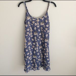 Blue Daisy Vintage summer dress