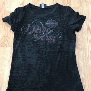 Harley-Davidson Tops - Harley Davison shirt size small