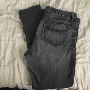 Gap Always Skinny Gray Jeans