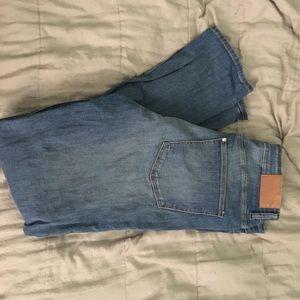 H&M plus blue skinny jeans