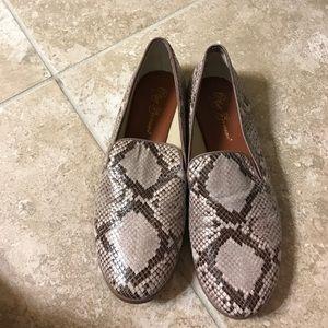 Matt Bernson Shoes - Snakeskin flats
