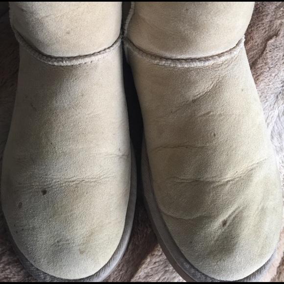 ugg classic short beige