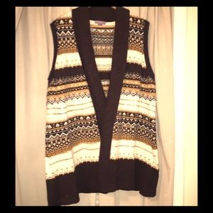 Laura Scott Jackets & Blazers - Knit vest