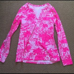 Lilly Pulitzer long sleeve shirt size small