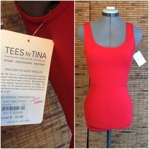 Tees by Tina Tops - Pretty Poppy Tank