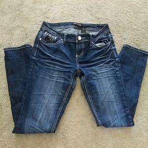 ZCO Denim - ZCO dark-wash straight leg jeans