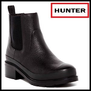 Hunter Boots Shoes - ❗️1-HOUR SALE❗️HUNTER LEATHER BOOTS