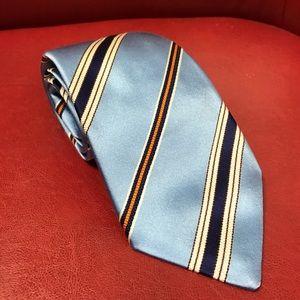 Isaia Other - Isaia 7 fold silk tie, classic Italian fashion.