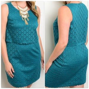 Dresses & Skirts - Jade Sleeveless Dress Plus Size