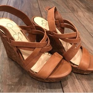 Jessica Simpson Shoes - JS wedges