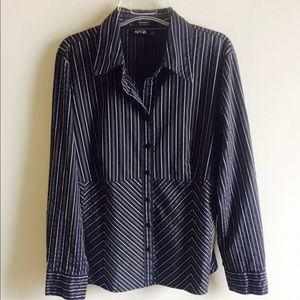 APT 9 Long Sleeve Blouse Sz XL