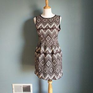 J. Crew Dresses & Skirts - J. Crew Tribal Print Chevron Dress