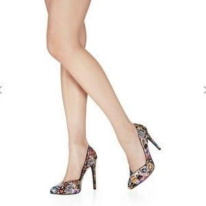 Shoes - Gorgeous multi colored heels
