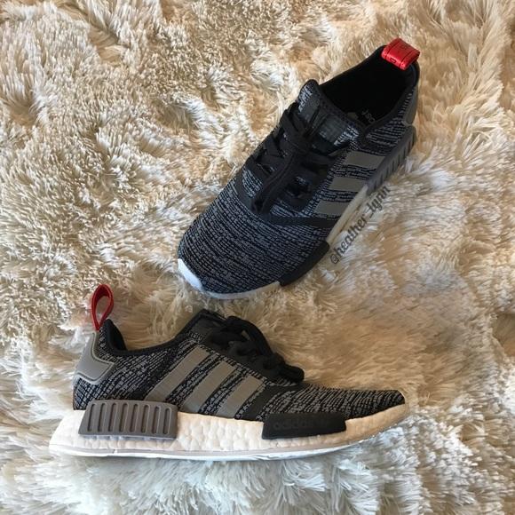 Adidas NMD R1 ? Core BlackSolid Grey NWT