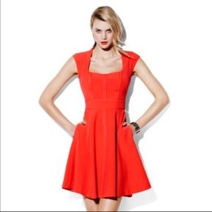 Vince Camuto Dresses & Skirts - Vince Camuto Fit & Flare Coral Dress