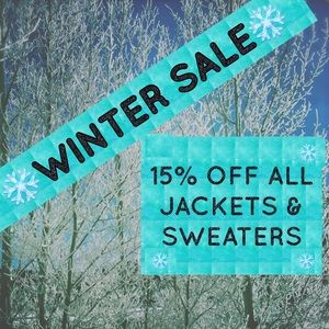 ☃️❄️15% Off Outerwear❄️☃️Disc Shipping!