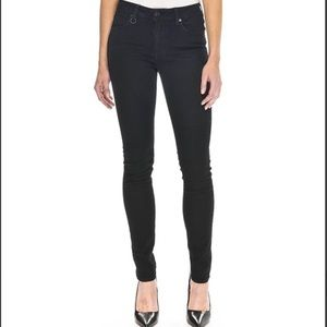 NWT Neuw Black Vintage Skinny Jeans Sz 24