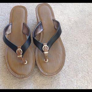 Aldo Shoes - Black and Tan