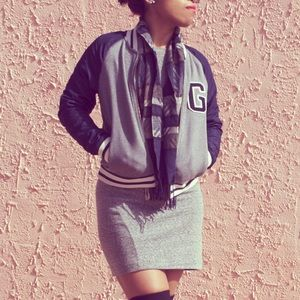 GAP Jackets & Blazers - Gap Colorblocked Varsity Jacket