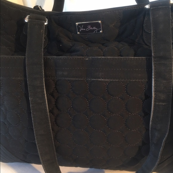 vera bradley good bye sale vera bradley tote diaper bag black from genine 39 s closet on poshmark. Black Bedroom Furniture Sets. Home Design Ideas