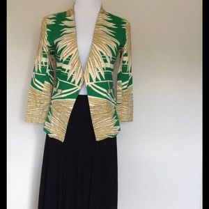 "W118 by Walter Baker Jackets & Blazers - Fabulous ""Tribal Feathers"" Jacket"