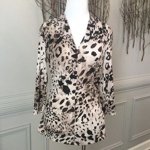 $10 ITEM FINAL$! Vince Camuto-Animal Print Top