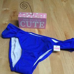 PINK Victoria's Secret Other - PINK VS Blue Bikini Bottom