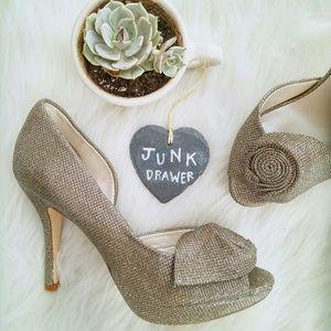 Caparros Shoes - Caparros Metallic Rose Pump 7M NWOB
