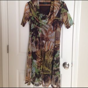Karen Kane Dresses & Skirts - Karen Kane Sz L gorgeous summer print dress