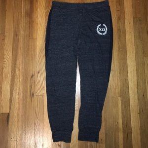 Pants - chi omega jogger sweatpants
