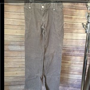 Liz Lange for Target Pants - Gray corduroy maternity pants